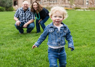 Littleton family photographer toddler girl Highlands Ranch Mansion Colorado photography parenthood love candid