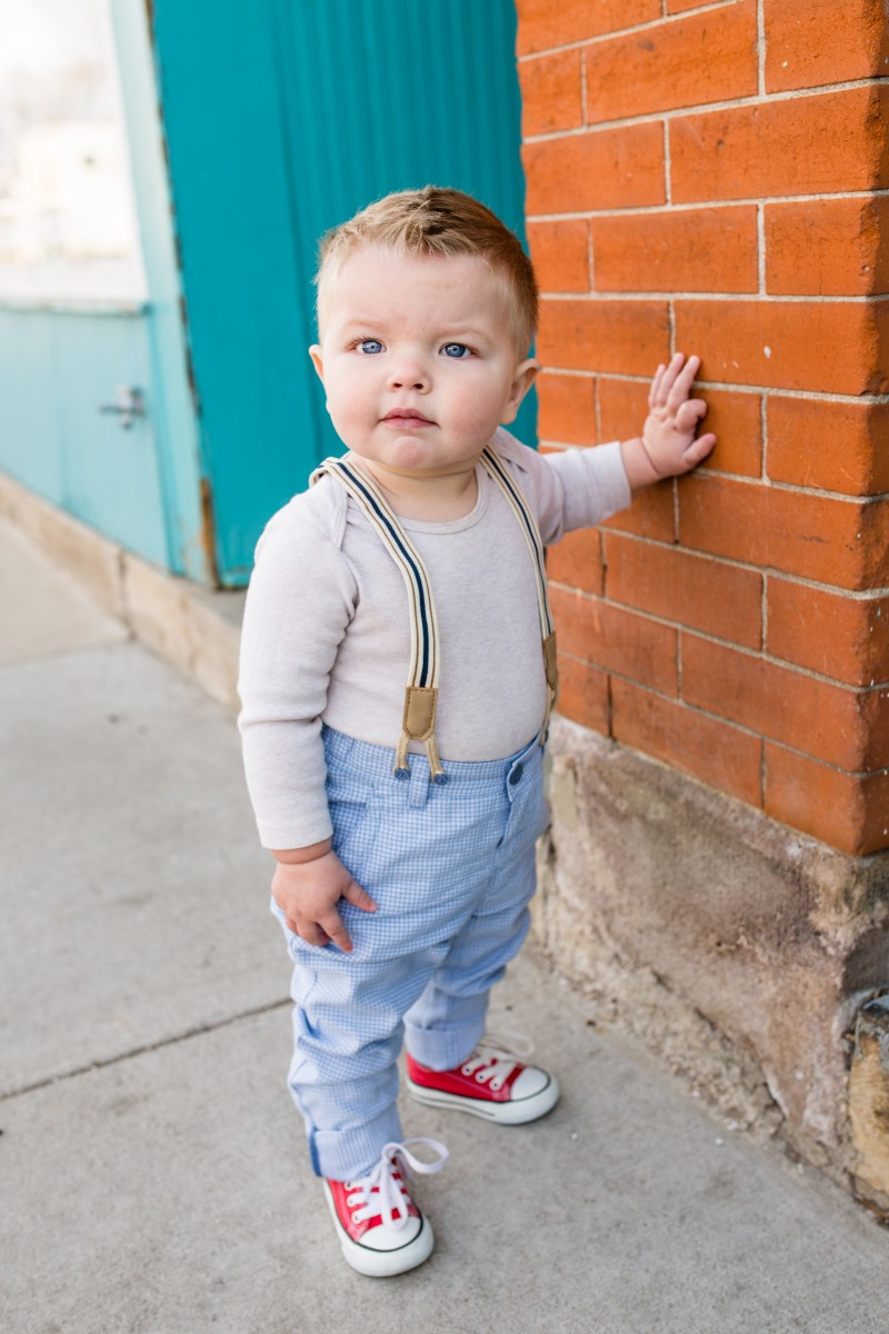 Littleton baby photographer near me one year old boy