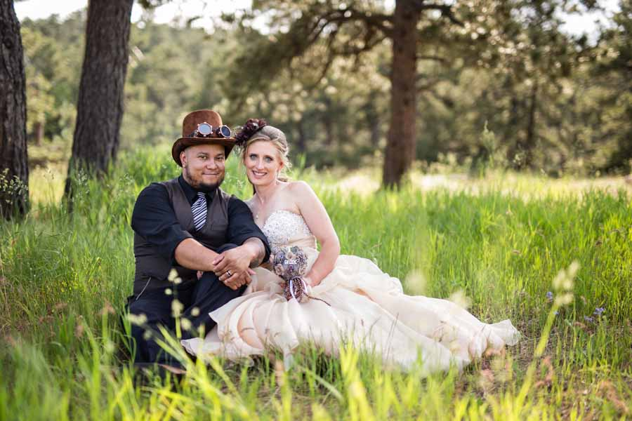 steampunk wedding Lookout Mountain photographer
