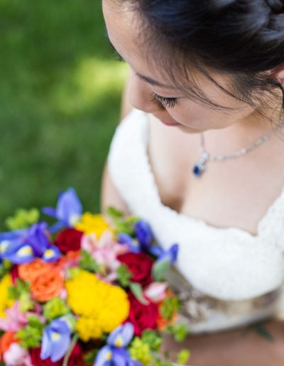 Littleton wedding photographer at the Molly Brown summer house bride photography
