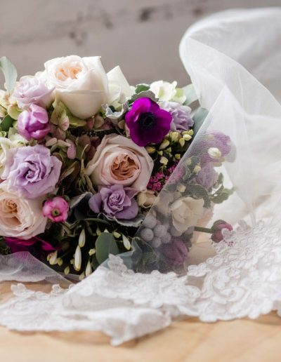 Littleton wedding photographer bridal bouquet flowers