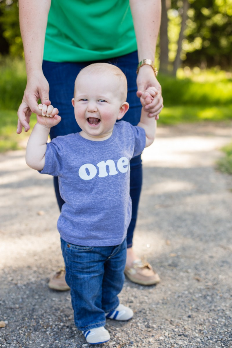 Littleton photographer Fly'N B Park Highlands Ranch photography milestone session one years old