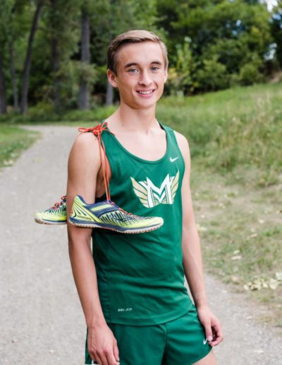 Littleton senior photographer Mountain Vista cross country High School Highlands Ranch Colorado photography boy track runner