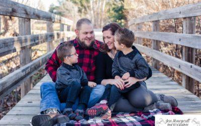 The {M} Family of 4 at Writer's Vista Park [Littleton photographer]