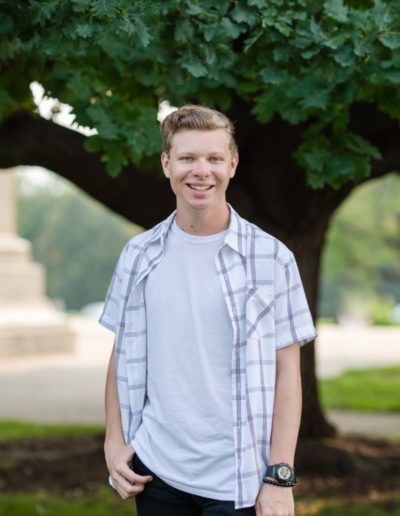 Littleton senior photographer high school boy north Denver Cheeseman Park photography