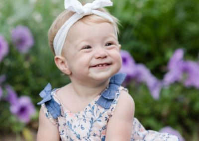 Littleton family photographer baby girl kid child smiles summer Denver Cheeseman Park photography happy