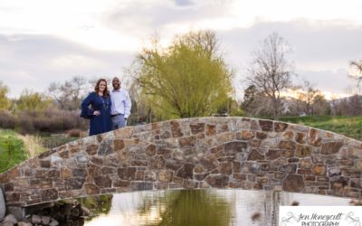 Wendy + Jason's engagement session at the Lakewood Country Club [Littleton photographer]