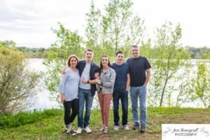 Littleton family photographer sunset golden hour Lakewood Heritage Center Belmar park Colorado photography foothills mountain view lake teen teens real connection