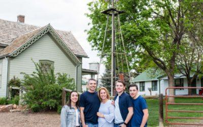 The {H} Family of 5 at the Lakewood Heritage Center & Chris's senior portraits [Littleton photographer]