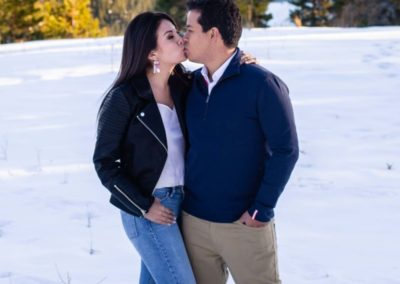 Littleton family photographer couple in love engaged engagement