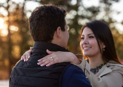 Littleton engagement photo session photographer in Colorado