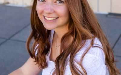 Kyla's high school senior portrait session at the Lakewood Heritage Center by Littleton photographer