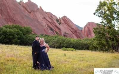 Noah and Mary's elopement at Roxborough State park by Littleton wedding photographer