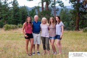 Littleton family photographer Colorado Mt. Falcon park extended cousins Mexico sisters grandparents Indian Hills kids children mountain views view foothills summer visit time
