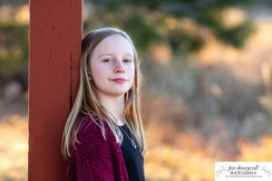 Littleton family photographer in Colorado at a park near Ken Caryl area foothills view twin girls twins siblings teen boy winter Christmas sunset mini photo session photography