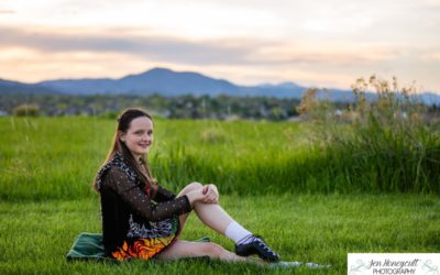 Eliana's Irish dancer mini photo session by Littleton child and family photographer